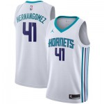 Nike Charlotte Hornets Jordan Association Swingman Jersey - Willy Hernangomez - Mens Charlotte Hornets Jordan Association Swingman Jersey - Willy Hernangomez - Mens