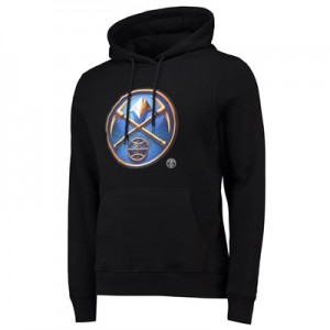 Denver Nuggets Midnight Mascot Core Hoodie - Black - Mens
