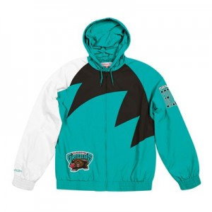 Vancouver Grizzlies Sharktooth Jacket By Mitchell & Ness - Mens