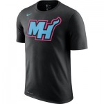 Miami Heat Nike City Edition Logo T-Shirt - Youth