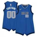 Nike Dallas Mavericks Nike Icon Replica Onesie Jersey - Custom - Infant Dallas Mavericks Nike Icon Replica Onesie Jersey - Custom - Infant
