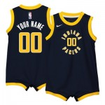 Nike Indiana Pacers Nike Icon Replica Onesie Jersey - Custom - Infant Indiana Pacers Nike Icon Replica Onesie Jersey - Custom - Infant