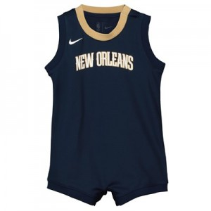 Nike New Orleans Pelicans Nike Icon Replica Onesie Jersey - Custom - Infant New Orleans Pelicans Nike Icon Replica Onesie Jersey - Custom - Infant