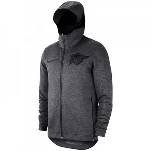 Oklahoma City Thunder Nike Showtime Therma Flex Hoodie - Youth