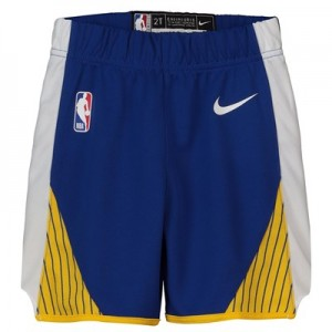 Golden State Warriors Nike Icon Replica Short - Toddler