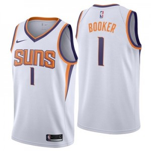 Nike Phoenix Suns Nike Association Swingman Jersey - Devin Booker - Mens Phoenix Suns Nike Association Swingman Jersey - Devin Booker - Mens