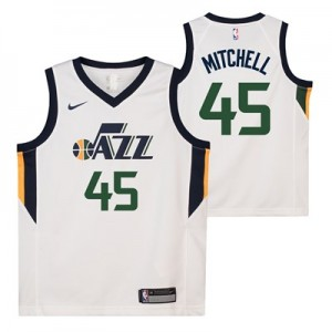 Nike Utah Jazz Nike Association Swingman Jersey - Donovan Mitchell - Youth Utah Jazz Nike Association Swingman Jersey - Donovan Mitchell - Youth
