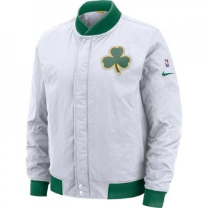 Boston Celtics Nike City Edition Courtside Jacket - Mens