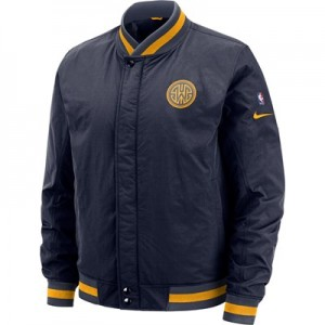 Golden State Warriors Nike City Edition Courtside Jacket - Mens
