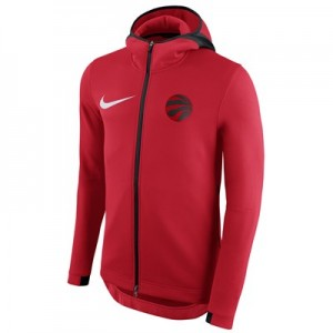 Toronto Raptors Nike Showtime Therma Flex Hoodie - Mens