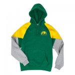 Seattle Supersonics Trading Block Hoodie By Mitchell & Ness - Mens
