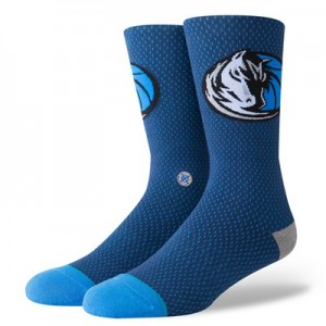 Nike Dallas Mavericks Stance Jersey Sock - Mens Dallas Mavericks Stance Jersey Sock - Mens