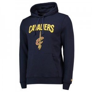 Cleveland Cavaliers New Era Team Logo Hoodie - Mens