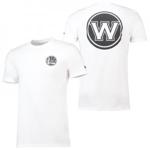 Golden State Warriors New Era Core Dual Logo T-Shirt - Mens