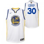 Nike Golden State Warriors Nike Association Swingman Jersey - Finals Patch - Stephen Curry - Youth Golden State Warriors Nike Association Swingman Jersey - Finals Patch - Stephen Curry - Youth