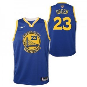 Nike Golden State Warriors Nike Icon Swingman Jersey - Finals Patch - Draymond Green - Youth Golden State Warriors Nike Icon Swingman Jersey - Finals Patch - Draymond Green - Youth