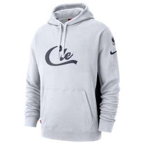 Cleveland Cavaliers Nike Earned Edition Courtside Hoodie - Mens