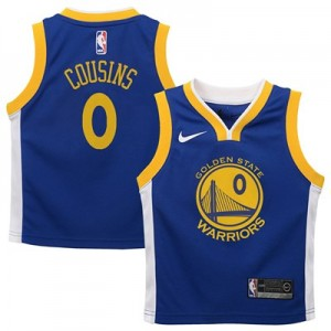 Nike Golden State Warriors Nike Icon Replica Jersey - DeMarcus Cousins - Kids Golden State Warriors Nike Icon Replica Jersey - DeMarcus Cousins - Kids