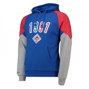 NBA 1991 All-Star Trading Block Hoodie By Mitchell & Ness - Mens