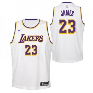 Nike Los Angeles Lakers Nike Association Swingman Jersey - LeBron James - Youth Los Angeles Lakers Nike Association Swingman Jersey - LeBron James - Youth