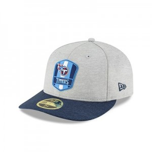 Tennessee Titans New Era Official Sideline Road Low Profile 59FIFTY Fitted Cap