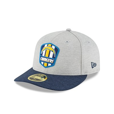 Los Angeles Chargers New Era Official Sideline Road Low Profile 59FIFTY Fitted Cap
