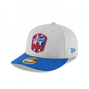 Buffalo Bills New Era Official Sideline Road Low Profile 59FIFTY Fitted Cap