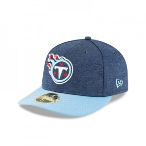 Tennessee Titans New Era Official Sideline Home Low Profile 59FIFTY Fitted Cap