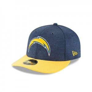 Los Angeles Chargers New Era Official Sideline Home Low Profile 59FIFTY Fitted Cap