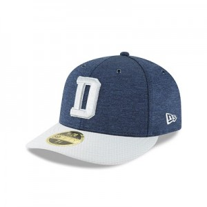 Dallas Cowboys New Era Official Sideline Home Low Profile 59FIFTY Fitted Cap