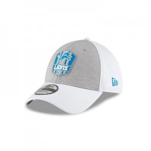 Detroit Lions New Era Official Sideline Road 39THIRTY Stretch Fit Cap