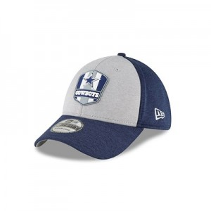 Dallas Cowboys New Era Official Sideline Road 39THIRTY Stretch Fit Cap
