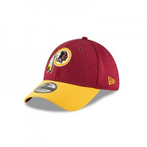 Washington Redskins New Era Official Sideline Home 39THIRTY Stretch Fit Cap