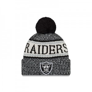 Oakland Raiders New Era Official Cold Weather Sport Knit