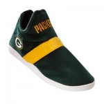 Green Bay Packers Colorblock Sneaker Slipper with TPR Sole