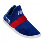 New York Giants Colorblock Sneaker Slipper with TPR Sole