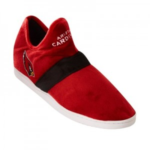 Arizona Cardinals Colorblock Sneaker Slipper with TPR Sole