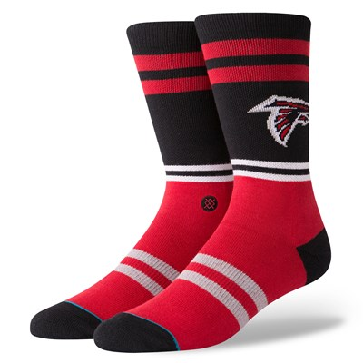 Atlanta Falcons Stance Logo Sock - Mens