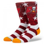 Tampa Bay Buccaneers Stance Banner Sock - Mens