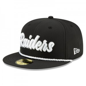 Oakland Raiders New Era 2019 Official Home Sideline 1960-61 59FIFTY Fitted Cap