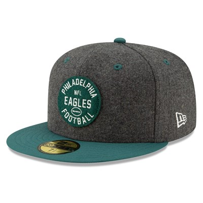 Philadelphia Eagles New Era 2019 Official Home Sideline 1933-53 59FIFTY Fitted Cap