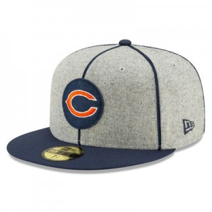 Chicago Bears New Era 2019 Official Home Sideline 1920-25 59FIFTY Fitted Cap