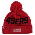 San Francisco 49ers New Era 2019 Official Cold Weather Road Knit