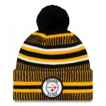 Pittsburgh Steelers New Era 2019 Official Cold Weather Home Knit