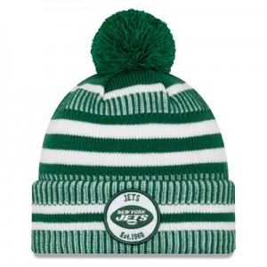 New York Jets New Era 2019 Official Cold Weather Home Knit