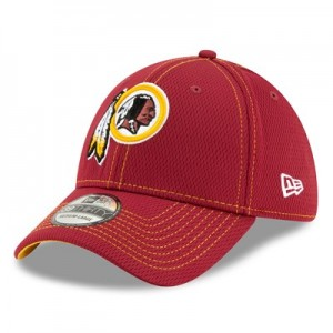 Washington Redskins New Era 2019 Official Road Sideline 39THIRTY Stretch Fit Cap
