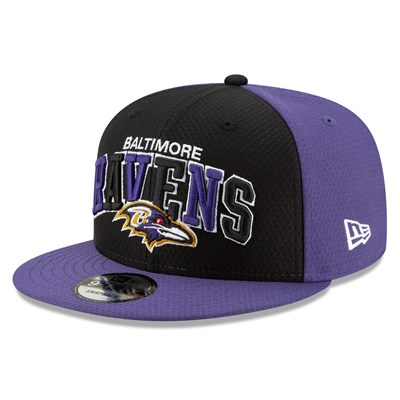 Baltimore Ravens New Era 2019 Official Home Sideline 1995-02 9FIFTY Snapback Cap