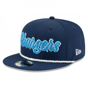 Los Angeles Chargers New Era 2019 Official Home Sideline 1960-61 9FIFTY Snapback Cap