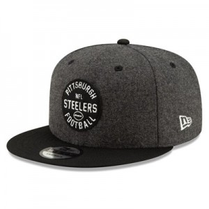 Pittsburgh Steelers New Era 2019 Official Home Sideline 1933-53 9FIFTY Snapback Cap