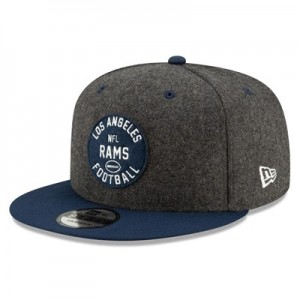 Los Angeles Rams New Era 2019 Official Home Sideline 1933-53 9FIFTY Snapback Cap